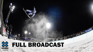 Monster Energy Men's Snowboard SuperPipe: FULL BROADCAST | X Games Aspen 2020
