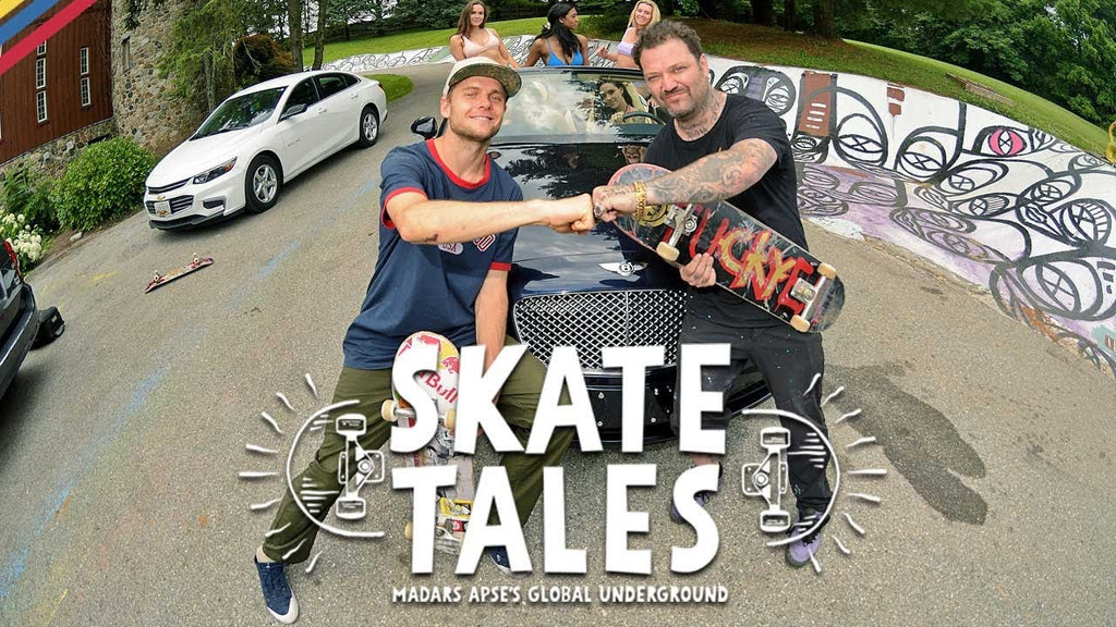 Party at Bam Margera's House | SKATE TALES Ep 1