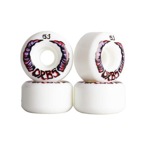 Orbs Wheels - Apparations White 53mm