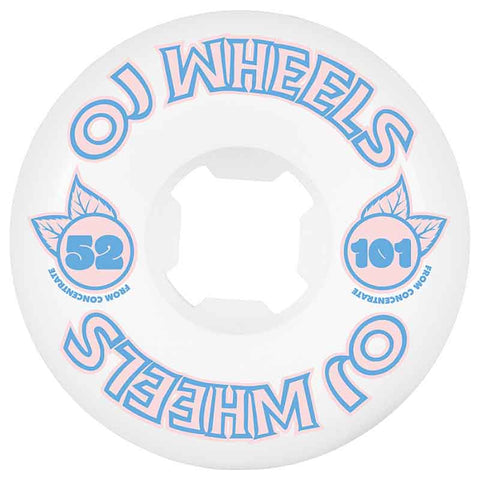 OJ Wheels - From Concentrate Hardline 101a 52mm