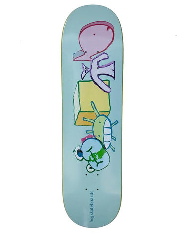 Frog Peaceful Block Deck - 8.25""