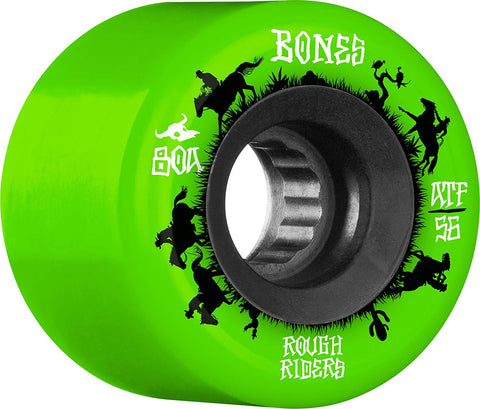 Bones Wheels - ATF Rough Riders 80A 60B 59mm - Green