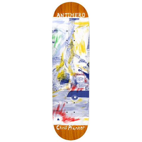 Anti Hero Chris Pfanner SF Then And Now Deck - 8.06""