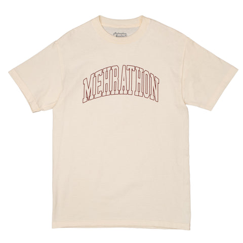 Mehrathon - College Outline Tee Cream