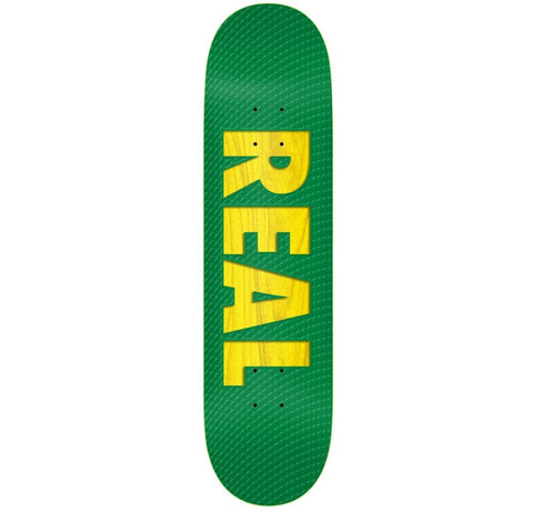 Real Bold Series White Deck - 8.38""