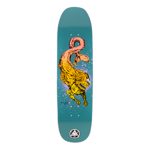Welcome Skateboards - Cetus on Son of Moontrimmer Dark Teal Deck - 8.25""