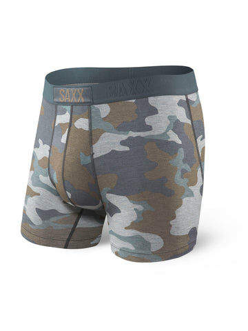 "SAXX Vibe Boxer Brief 5"" - Grey Supersize Camo"