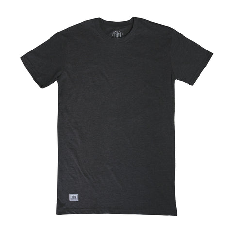 theTRUTH Essentials Premium Tall Tee 18 - Charcoal