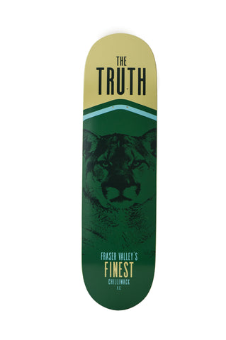 theTRUTH Wildlife Board Cougar 17 Skate Deck