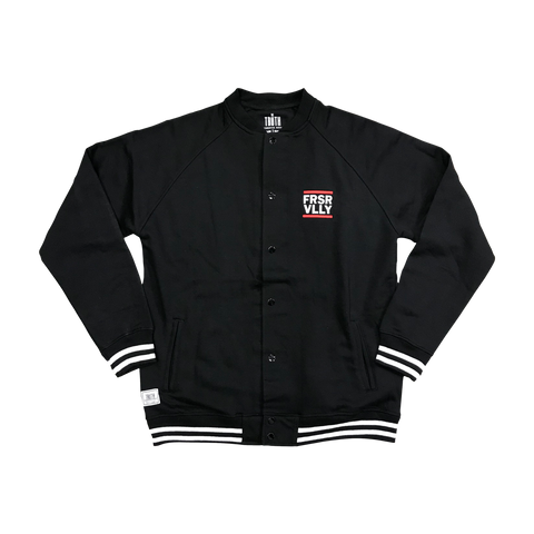 theTRUTH FRSR VLLY Varsity Jacket 18 - Black