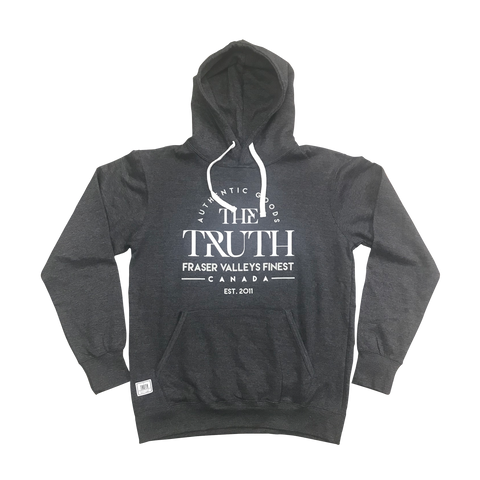 theTRUTH Frat House Premium Hoody 18 - Charcoal