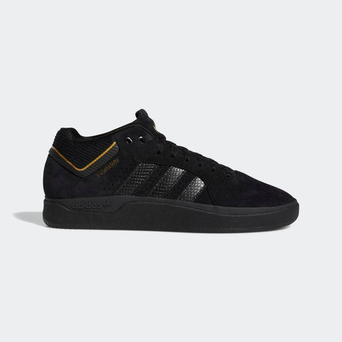 Adidas Tyshawn Pro - Core Black/Core Black/Metallic Gold