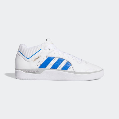Adidas Tyshawn Pro - Cloud White/Blue/Metallic Gold