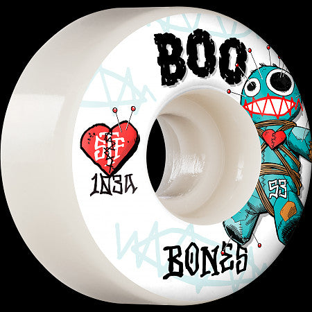 Bones Wheels Boo Johnson Pro - Boo Voodoo STF V4 Wide 103A 55mm