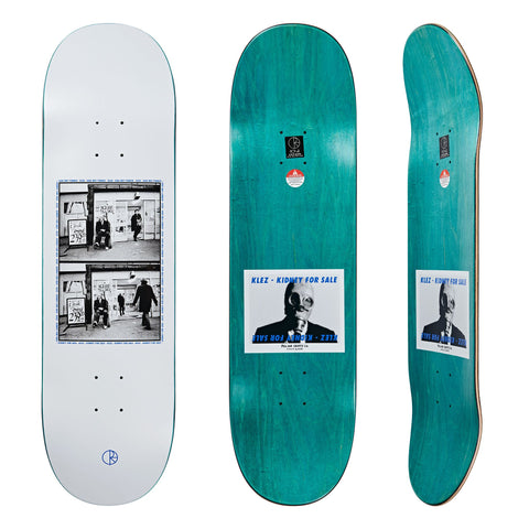Polar Klez Kidney For Sale White Deck - 8.125""