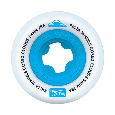 Ricta Wheels - Cored Clouds Blue 78A 54mm