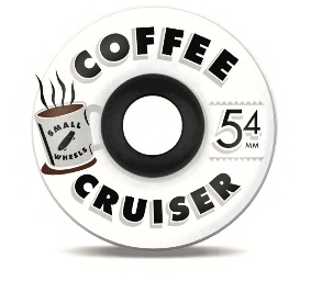 "Sml. Wheels - Coffee Cruisers ""Ghosts"" - 78a 54mm"