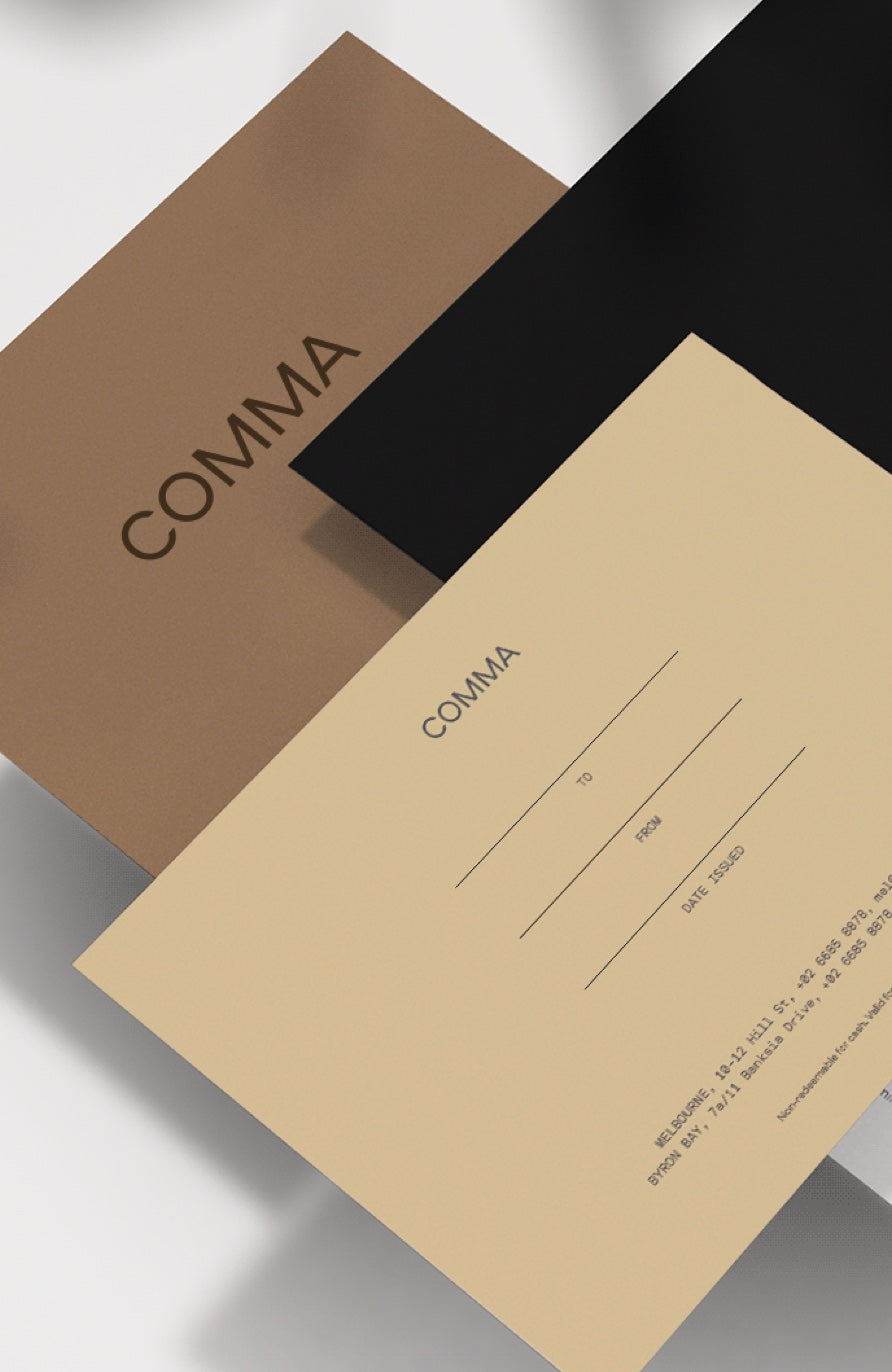 Copy of Comma Gift Voucher (TEST)