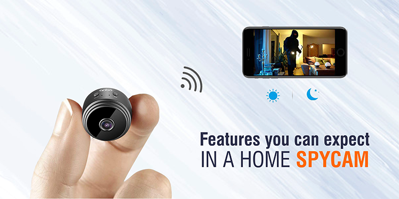 Features you can expect in a Home Spycam