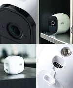 Wireless Home Security Camera System with Siren
