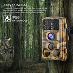 Campark Trail Game Camera 14MP 1080P Waterproof Hunting Scouting Cam for Wildlife Monitoring