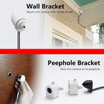 Titathink Wireless WiFi PoE HD Mini Spy Hidden Peephole IP Security Camera with Motion Detection