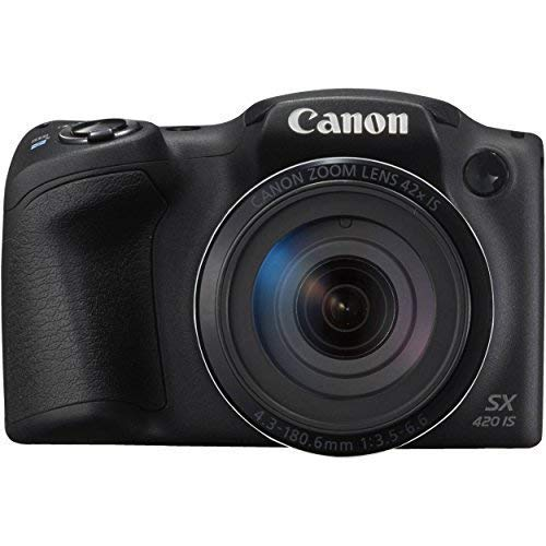 Canon Power Shot SX420 IS Digital Camera (Black)