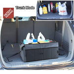 Drive Auto Products Car Trunk Storage Organizer with Straps