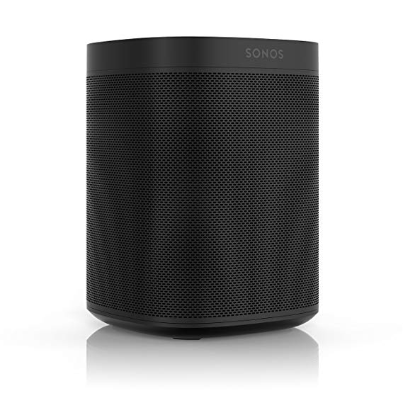 Sonos One (Gen 1) – Voice Controlled Smart Speaker with Amazon Alexa Built-in (Black)