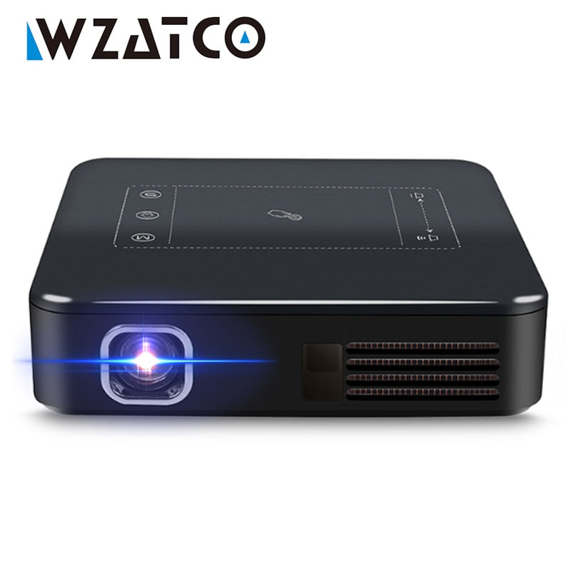 WZATCO WZ3 Android 7.1 Mini Pocket Projector
