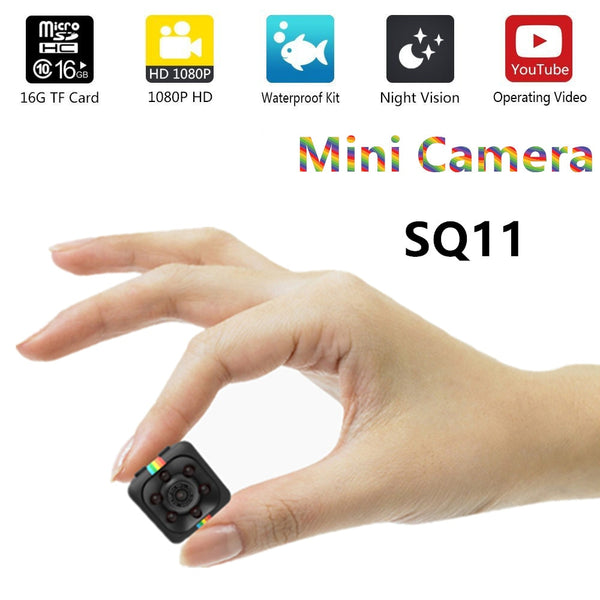 Grab This SQ11 HD Waterproof Mini Camera SQ12 Small Camera!