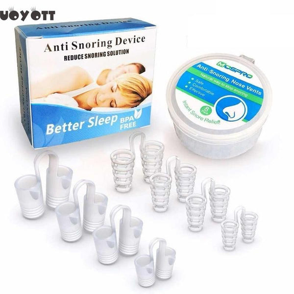 UOYOTT Anti Snoring Nose Clips