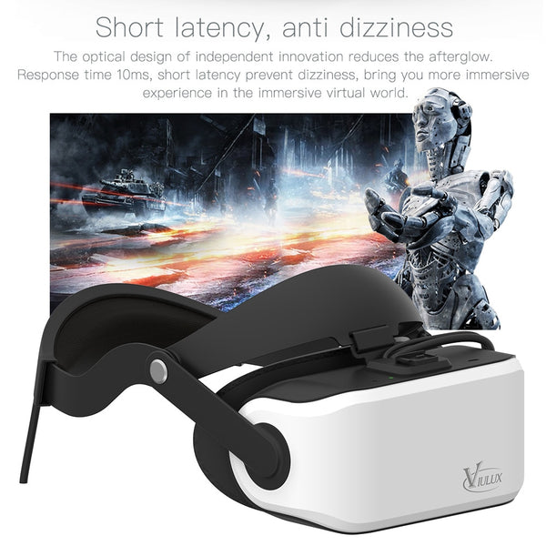 VIULUX V8 VR PC Helmet 3D Glasses Headset Game Movie Virtual Reality Headset