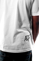 All Out (Men's White Tee)
