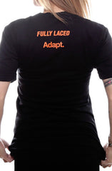 Fully Laced X Adapt :: From SF With Love (Women's Black/Orange V-Neck)