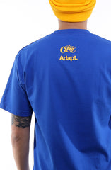 Cukui x Adapt :: Gold Blooded Tribal (Men's Royal Tee)