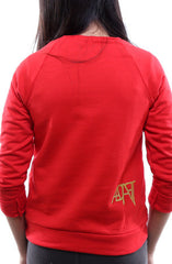 Empire (Youth Unisex Red Crewneck Sweatshirt)