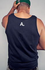 CTA (Men's Black/White Tank)