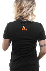 Home Team (Women's Black/Orange Tee)