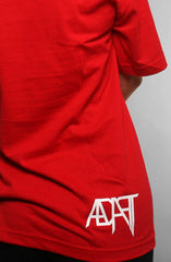 Ashley Vee X Adapt :: Good Morning (Men's Red Tee)