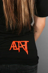 Local II (Women's Black/Orange V-Neck)