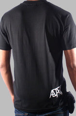 Paint the Town Black (Men's Black Tee)