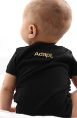 Gold Blooded (Baby Black/Red Onesie)