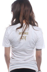 Colin Kaepernick X Adapt :: Kae9ernick (Women's White V-Neck)