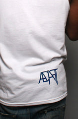 Greatest (Men's White/Navy Tank)