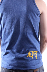Guns Out (Men's Denim Heather Tank)
