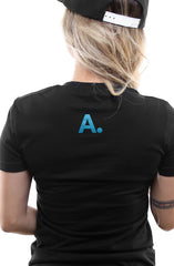 Home Team (Women's Black/Teal Tee)