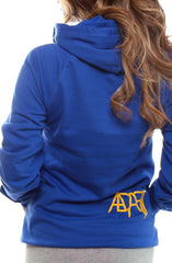 Gold Blooded (Women's Royal Hoody)