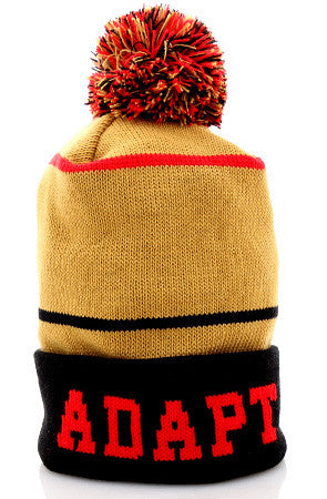Gold Blooded (Gold Red Beanie) – Adapt. 13e5c96945f