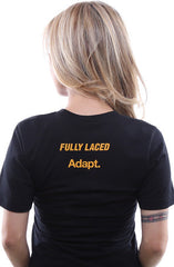 Fully Laced X Adapt :: Bauer (Women's Black V-Neck)